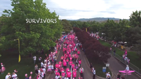 Be bold. Be fearless. Be a part of an empowered community at Race for the Cure to fight breast cancer