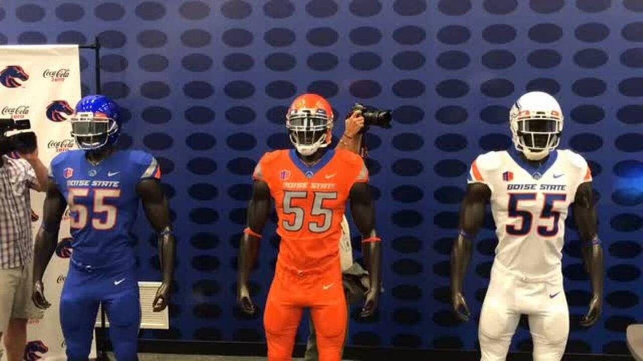 Boise State Football Check Out The Broncos New Uniforms Idaho