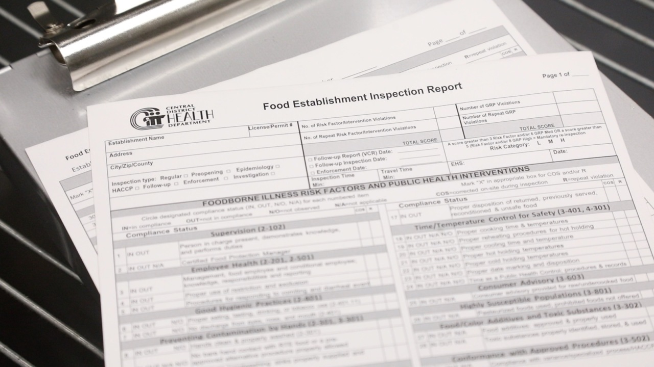Ada County food service inspections July 30-Aug. 5, 2019