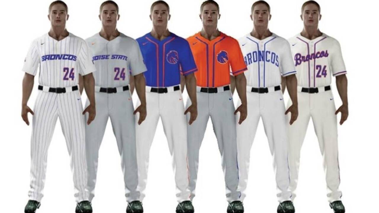 c0676144 Take a first look at Boise State's baseball uniforms | Idaho Statesman