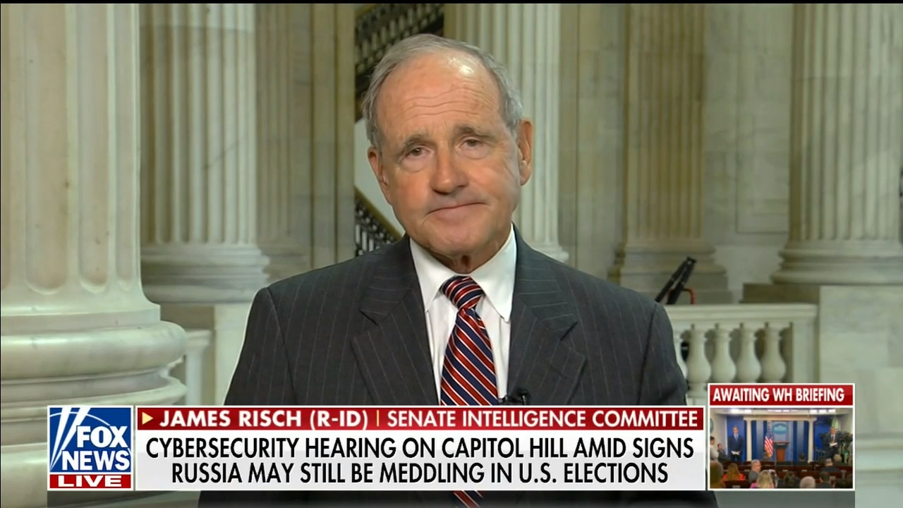 China is the 'most significant and consequential' challenge facing U.S., Risch says at talk