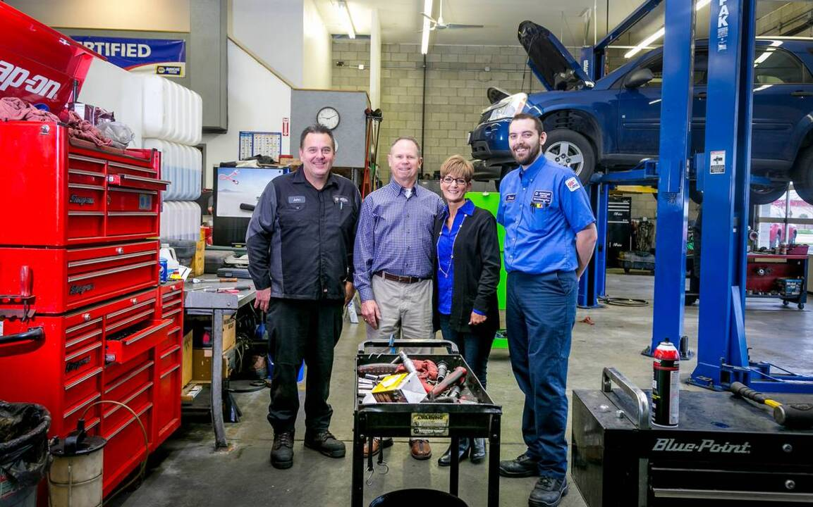 Garry's Automotive founders sell busness to longtime