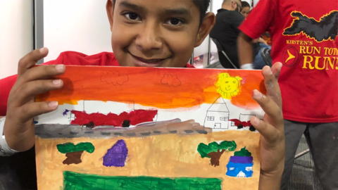 What's it like on the border? Kids and Boise volunteers open their hearts.