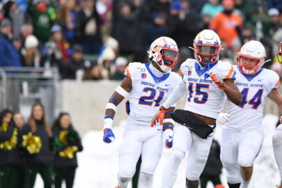 Boise State football coach Andy Avalos talks about his super seniors