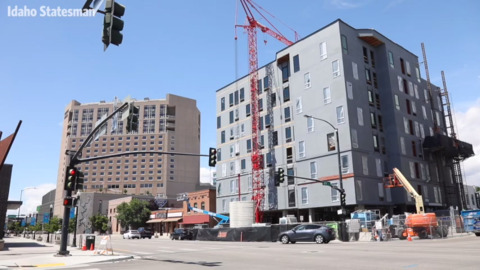 This apartment proposed for downtown Boise would be one of the city's tallest