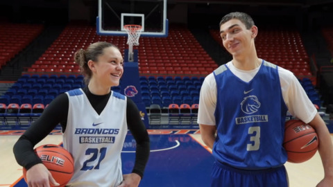 Boise State's two best 3-point shooters go head-to-head in a friendly best-of-10