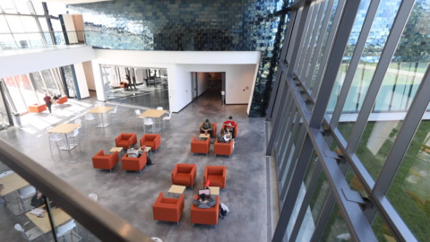 BSU Center for the Visual Arts: Creative architecture and creative space