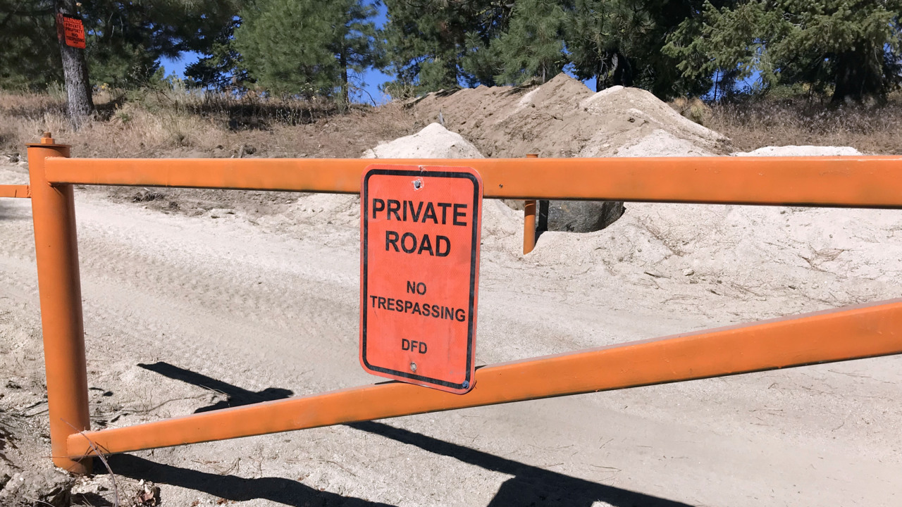 Texas billionaires add gates to Boise Forest Service road | Idaho