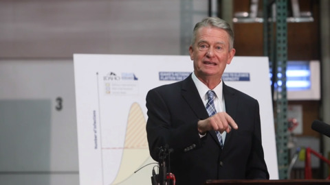 RECORDED EARLIER: Gov. Little press conference on Idaho schools and parents