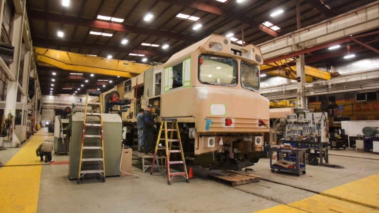 Boise's unique locomotive maker once employed 750 people. Now its factory is closing