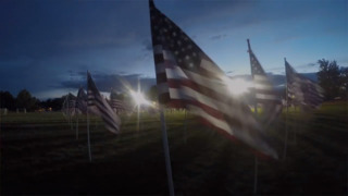 Eagle's Field of Honor: Time lapse into night