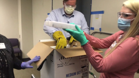 COVID-19 vaccine arrives at St. Luke's. Here's how.