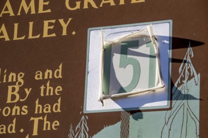Here's one man's crusade to see and save Idaho history, one wooden highway marker at a time