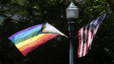 LGBTQ Pride Month flags disappear from North End neighborhood