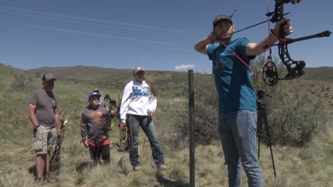 Boise just got a new archery range, and this one's geared toward bowhunters