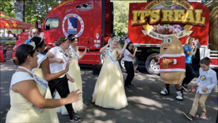 How Spuddy Buddy and the Big Idaho Potato charmed Seattle