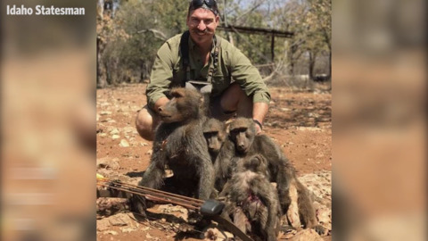 "Idaho Fish and Game Commissioner receives backlash after posting ""family of baboons"" he killed"