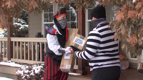Porch pirates are always lurking and want your packages, Idaho cops warn in PSA video