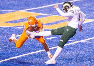 Boise State football coach, players react to win over Colorado State