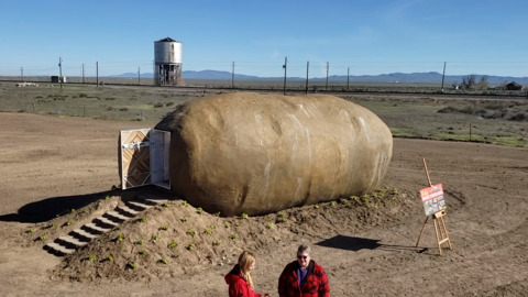 Big Idaho Potato becomes an Airbnb