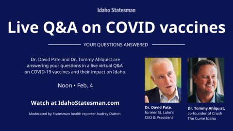 One doctor gives Idaho vaccine rollout a B or B-. Another says D-. Here's why