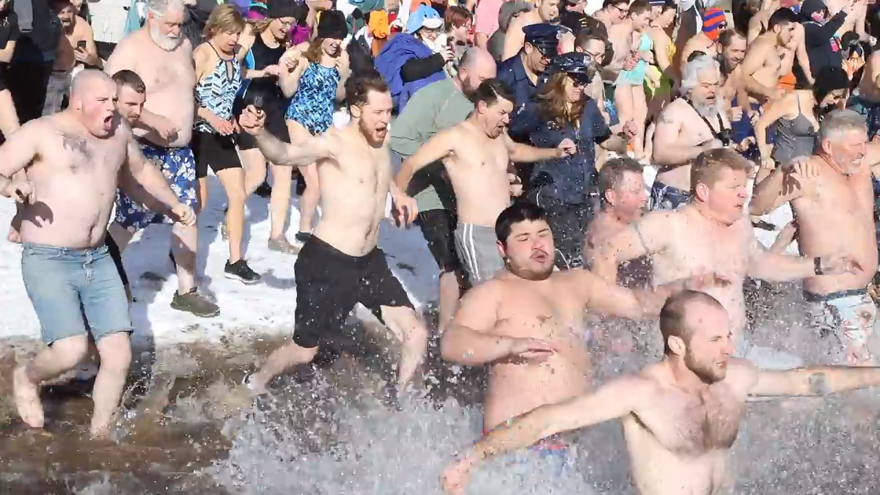 Ice-cold warmheartedness: Great Polar Bear Challenge raises record amount for Make-A-Wish