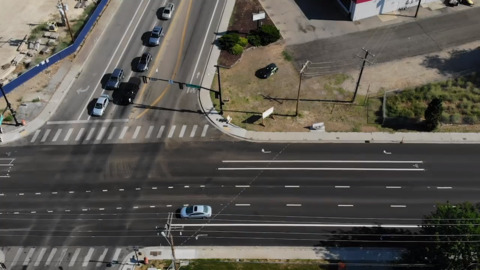 Confusing lane stripes on W. Main St. and W. Fairview Ave. have left some motorists wondering