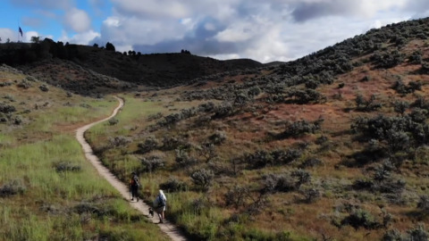 No use pacing at home during the coronavirus quarantine, hike the Ridge to River trail system
