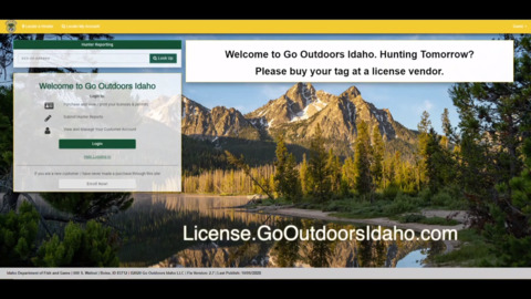 Buying an Idaho hunting or fishing license? Here's how to purchase online