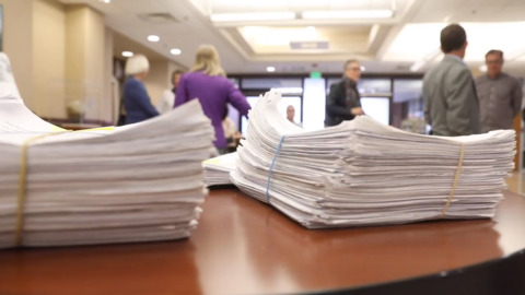 Signatures delivered to city clerk: Two issues for November