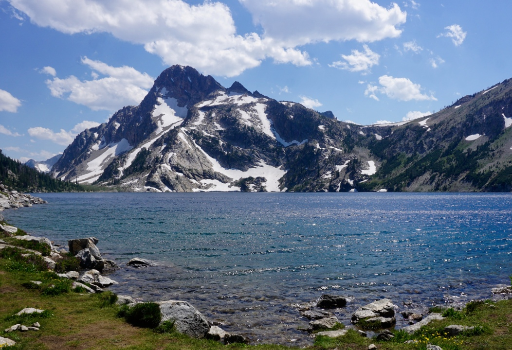 How to hike to Sawtooth Lake, Alpine Lake in Sawtooths ... Sawtooth Wilderness Idaho Road Map on ketchum idaho road map, meridian idaho road map, big wood river idaho road map, boise idaho road map, warm lake idaho road map, ada county idaho road map, mccall idaho road map,
