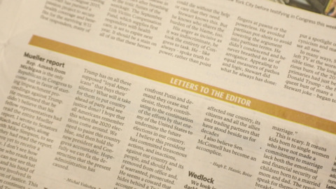 Want your say in the Statesman opinion page? Here's how.