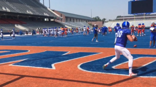 Boise State QB Chase Cord ready for first game action