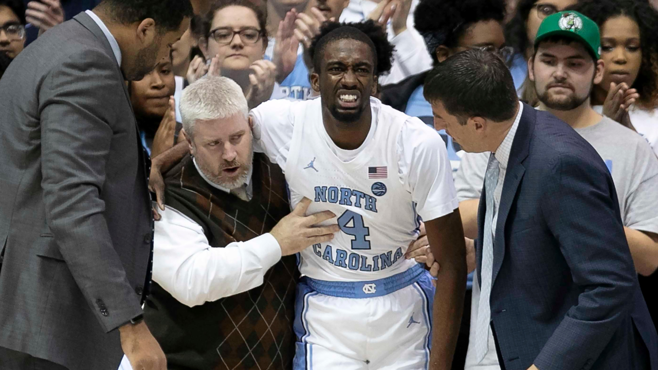 Guard Brandon Robinson could be out 'a couple of weeks.' How UNC might fill his role.