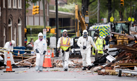 8 of 9 firefighters injured in Durham gas explosion back at work. United Way starts fund.