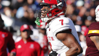 NC State's Nyheim Hines is the fastest running back in the NFL draft