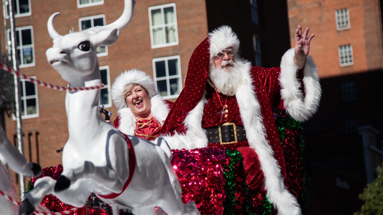 It's Raleigh Christmas parade time already. How to attend or watch the 2 TV broadcasts.