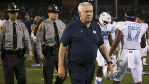 One second left. Officials make a mistake on the end of the UNC-Wake game, ACC says.
