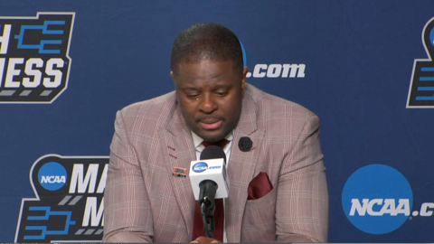 Emotional NC Central coach LeVelle Moton after NCAA loss