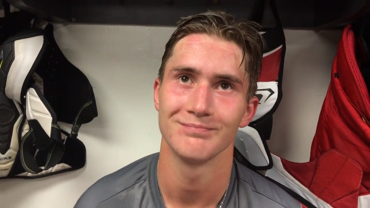 'I feel ready.' Is this the season Martin Necas sticks with the Hurricanes?