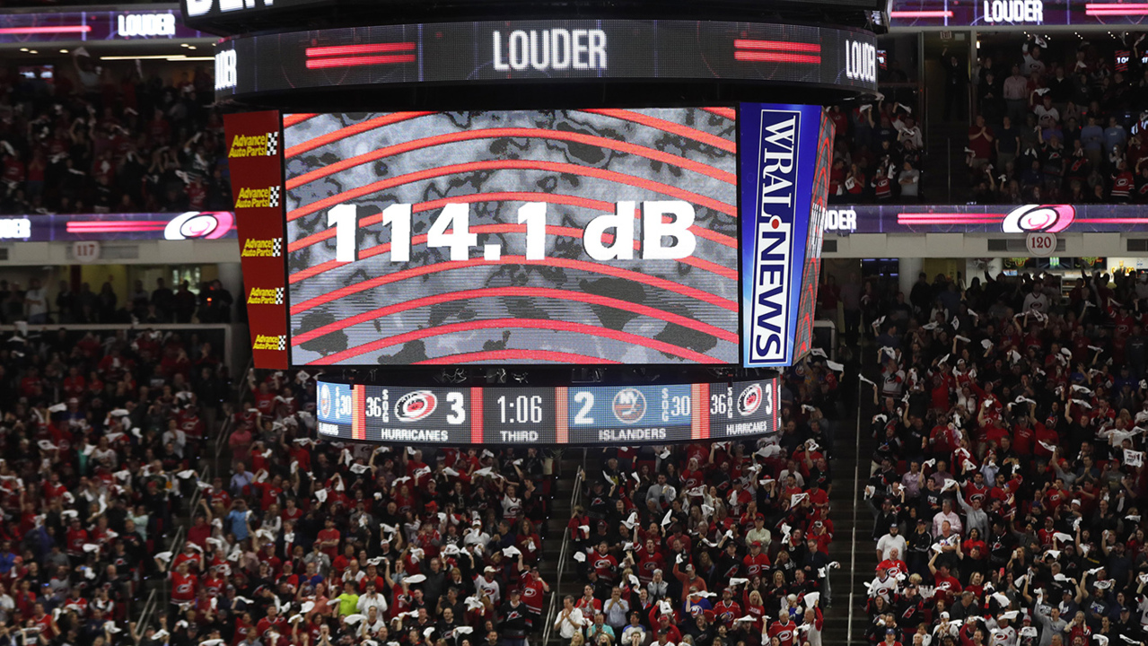 How Loud Is Pnc Arena For Carolina Hurricanes Games Raleigh News