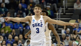 Duke's Grayson Allen: 'This tournament's all about staying alive.'