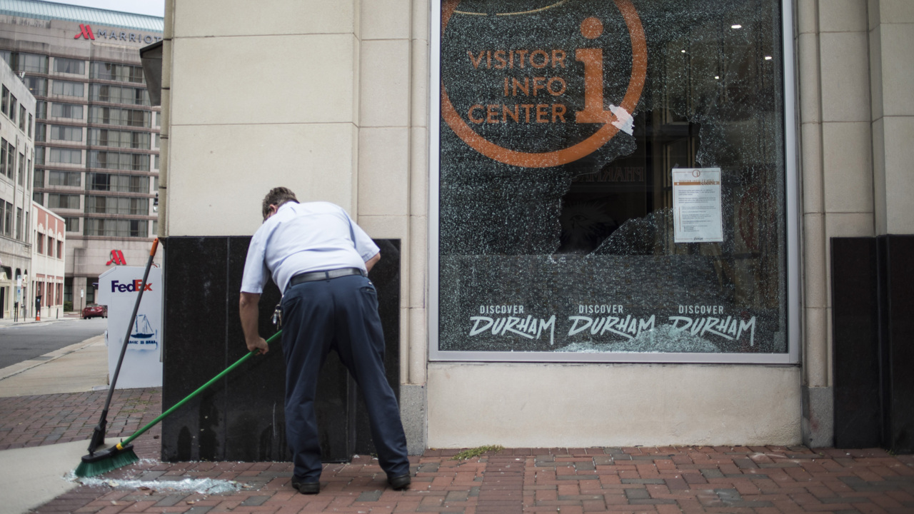 Durham mayor responds to downtown property damage after Breonna Taylor protest