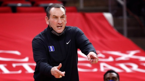 'Shoe's on the other foot' for Duke's Coach K this year