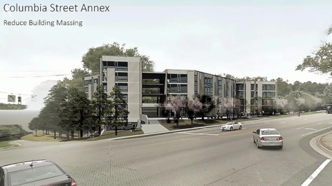 See the proposed South Columbia Annex project in Chapel Hill