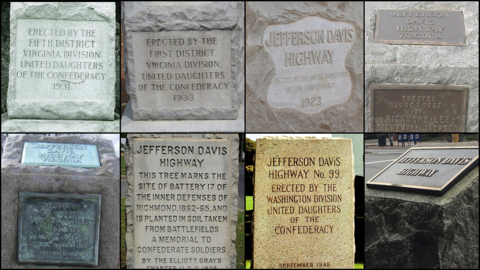 A history of the Jefferson Davis Memorial Highway