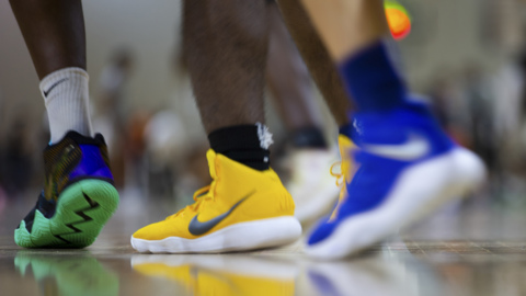 In college basketball, shoe companies walk a thin line between support and scandal