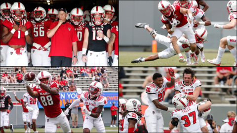 Photos from NC State football's spring game