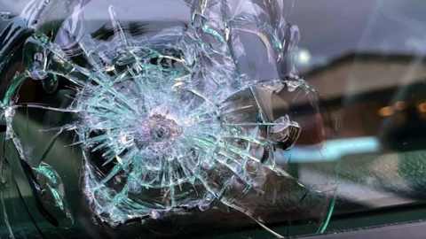 Drivers say sniper is shooting at cars on NC 264, leaving bullet holes