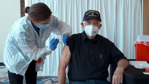 These NC firefighters were able to get the COVID vaccine first. Most didn't.